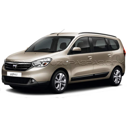 Dacia LODGY (5 KOLTUK) 2013-2020 3D Havuzlu Paspas Siyah