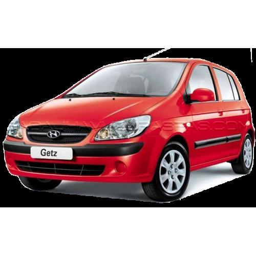 Hyundai GETZ (2003-2016) Havuzlu Paspas Siyah