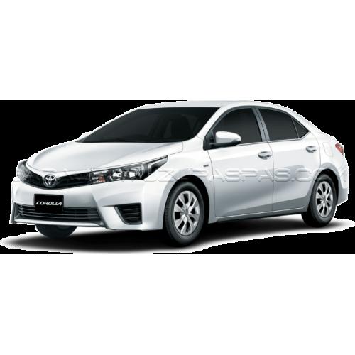 Toyota COROLLA SEDAN (2013-2018) Bagaj Havuzu Siyah