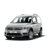 Volkswagen CADDY COMBİ KOLTUKLU VAN (2015+) Bagaj Havuzu Siyah
