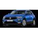 Volkswagen T-ROC (2019+) Üst 3D Bagaj Havuzu Siyah