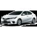 Toyota COROLLA SEDAN 2013-2018 3D Bagaj Havuzu Siyah