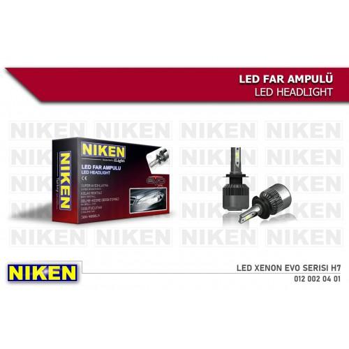 Niken Led Xenon Evo Serisi H7 8000Lm