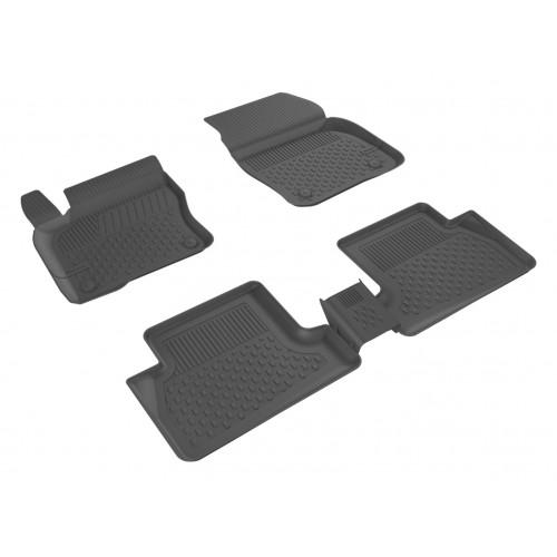 Ford FOCUS 3 SEDAN 2011-2014 Sahler 4.5D Havuzlu Paspas Siyah