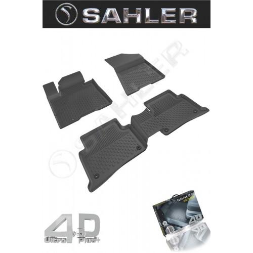 Hyundai TUCSON 2015-2020 Sahler 4.5D Havuzlu Paspas Siyah