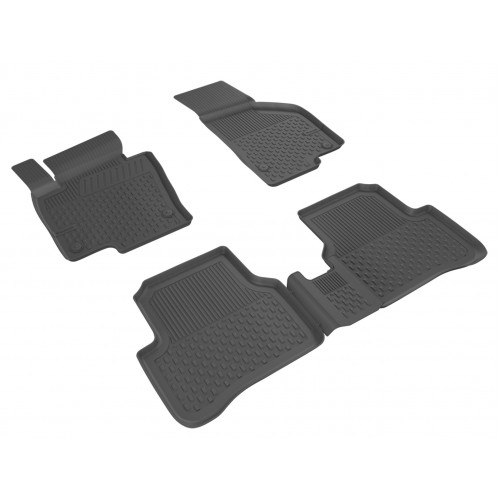 Volkswagen PASSAT B7 SEDAN (2011-2015) Sahler 4.5D Havuzlu Paspas Siyah