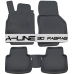 Volkswagen POLO (2010-2017) 3D Havuzlu Paspas Siyah