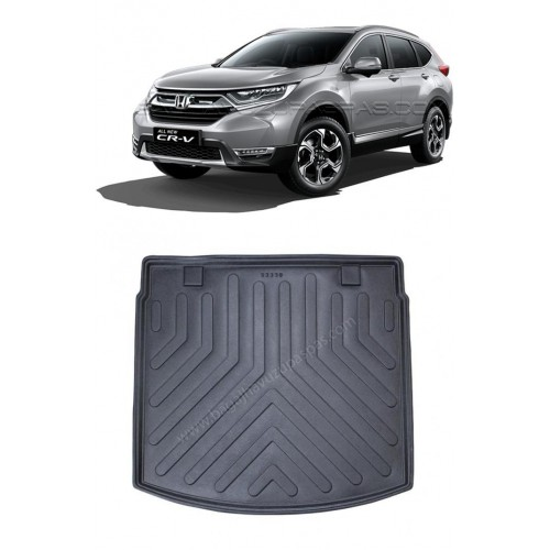 Honda CRV 4X4 SUV (2018+) Bagaj Havuzu Siyah