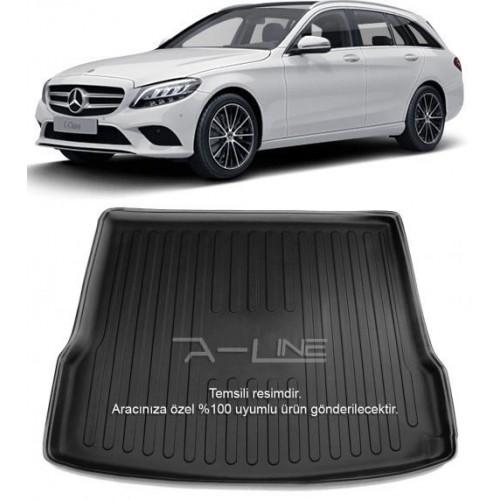 Mercedes C SERİ S205 STW (2014+) 3D Bagaj Havuzu Siyah