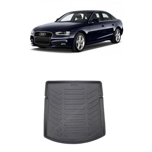 Audi A4 SEDAN B8 (2008-2015) Bagaj Havuzu Siyah