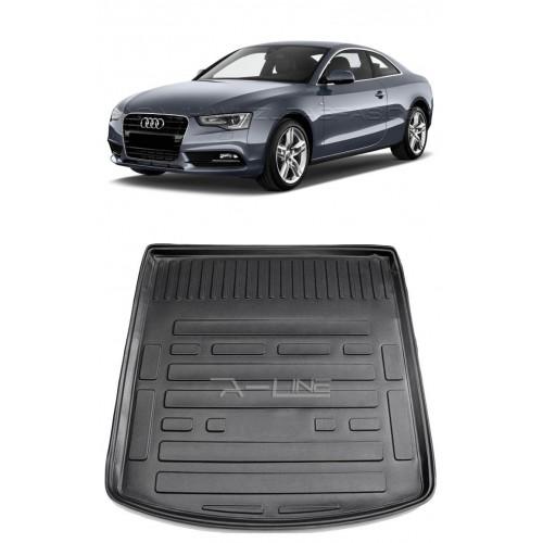 Audi A5 COUPE (2008-2015) Bagaj Havuzu Siyah