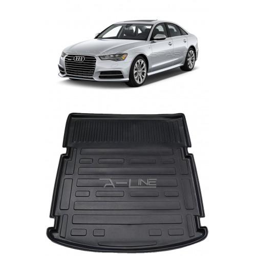 Audi A6 SEDAN (2013+) Bagaj Havuzu Siyah