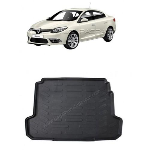 Renault FLUENCE SEDAN (2009+) 3D Bagaj Havuzu Siyah