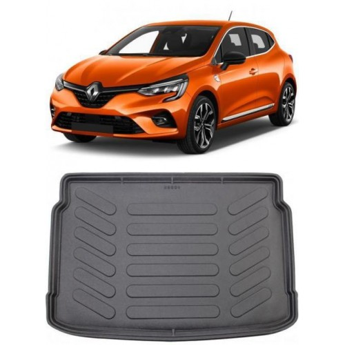 Renault CLIO 5 HB 2020 3D Bagaj Havuzu Siyah