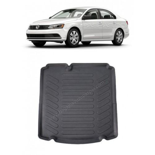 Volkswagen JETTA SEDAN (2011+) COMFORTLINE-HIGHLINE CEPSİZ Bagaj Havuzu Siyah