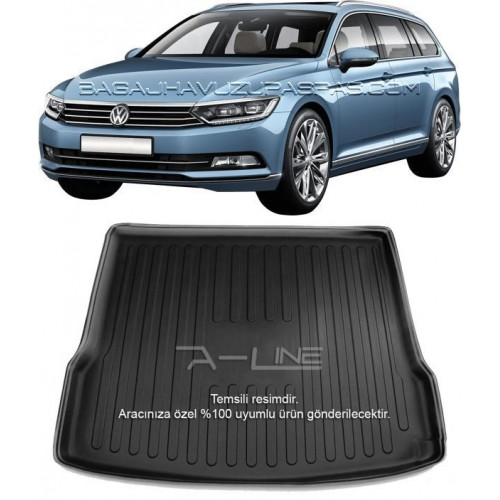 Volkswagen PASSAT B8 VARIANT (2015-2018) Bagaj Havuzu Siyah