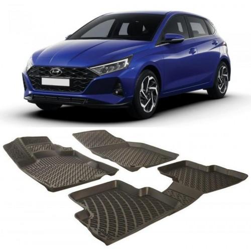 Hyundai Yeni İ20 2020 3D Havuzlu Paspas Siyah