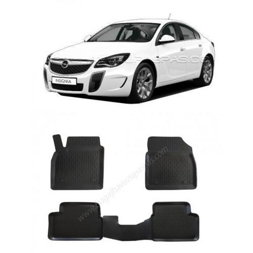 Opel INSIGNIA HB (2009-2016) 3D Havuzlu Paspas Siyah