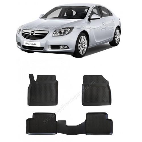 Opel INSIGNIA SEDAN (2009-2016) 3D Havuzlu Paspas Siyah