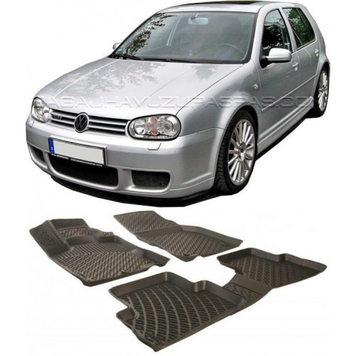 Volkswagen GOLF 4 HB 1998-2004 3D Havuzlu Paspas Siyah