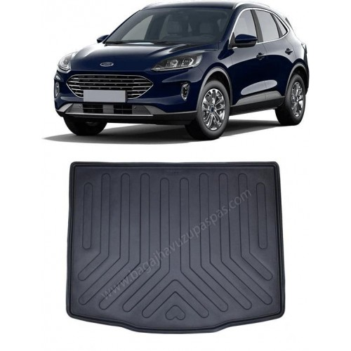 Ford KUGA 2020 3D Bagaj Havuzu Siyah