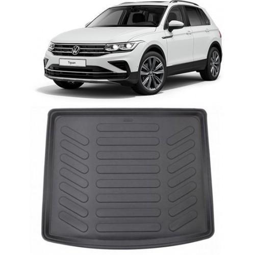 Volkswagen Yeni TIGUAN Makyajlı Kasa 2020-2021 3D Bagaj Havuzu Siyah