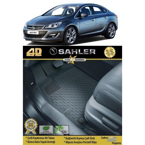 Opel ASTRA J SEDAN (2012+) Havuzlu Paspas Siyah